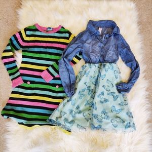 Set of two size 6/7 girls dresses